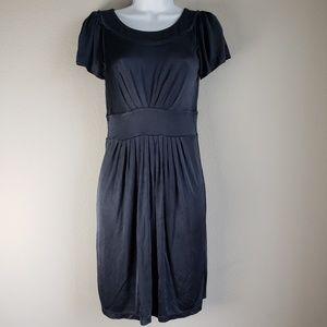 BCBGMAXAZRIA gray petite dress size S